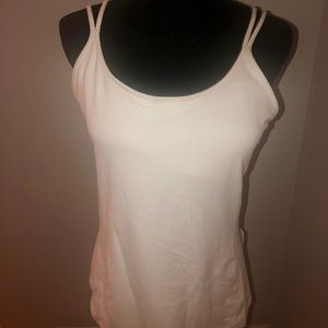 Lululemon Free To Be Tank Nulu Strappy Wht NWT 12